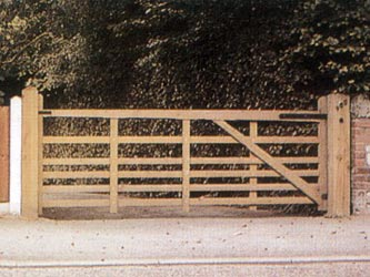 Sussex Sapele Hardwood Farm & Field Gates