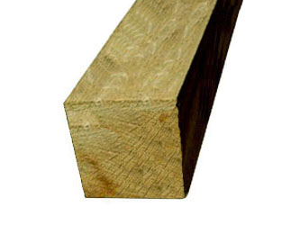 Oak Hardwood Timber 7in x 7in Gate Posts