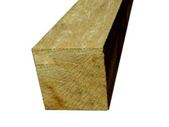 Oak Hardwood Timber 8in x 8in Gate Posts