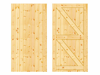 PAR Tongue & Groove Frame Ledged & Braced Side Garden Gates