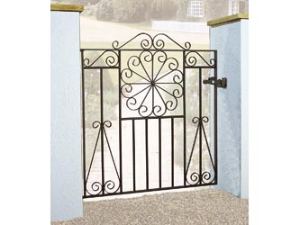 Edinburgh Wrought Iron Front Garden Gates