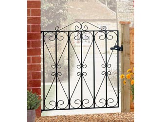 Regent Wrought Iron Front Garden Gates