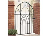 Abbey Bow Top Wrought Iron Front Garden Gate
