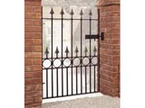 Balmoral Wrought Iron Front Garden Gates