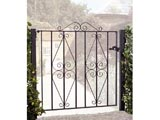 Stirling Wrought Iron Front Garden Gates