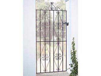 Stirling Wrought Iron Side Garden Gates