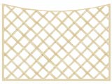 PAR Concave Heavy Duty Diamond 4in Garden Trellis Panels