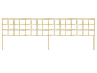 PAR Long Batten Straight Heavy Duty Standard 4in Garden Trellis Panels