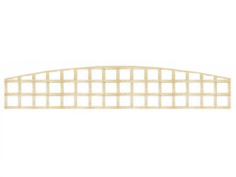 PAR Long Convex Heavy Duty Standard 4in Garden Trellis Panels