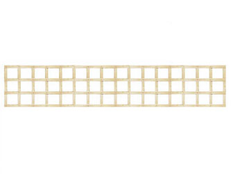 PAR Long Straight Heavy Duty Standard 4in Garden Trellis Panels