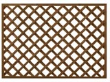 Brown Treated Heavy Duty Diamond Garden Trellis