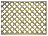 Natural Treated Heavy Duty Diamond Garden Trellis