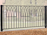 Wrought Iron Garden Fence Panels