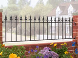 Wrought Iron Garden Railings